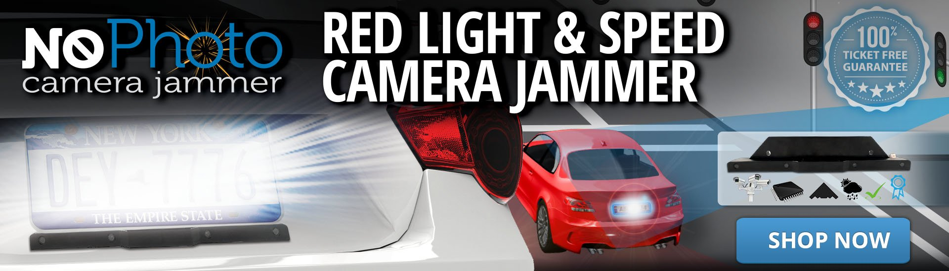 Red Light & Speed Camera Jammer